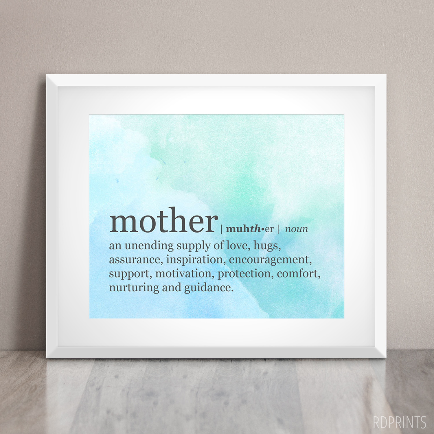mothers day quote | rdprints on etsy
