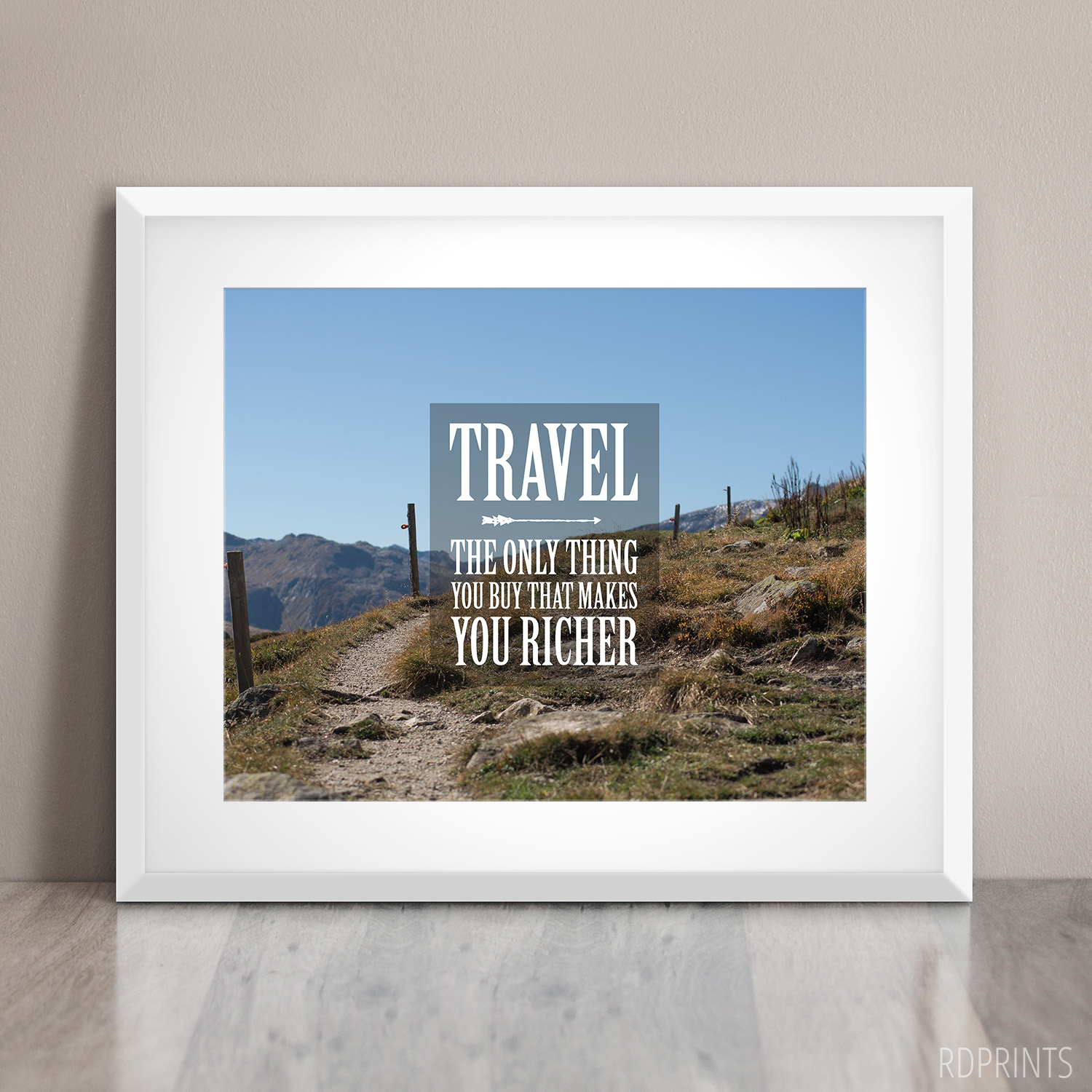 travel | word art | RDPRINTS on ETSY