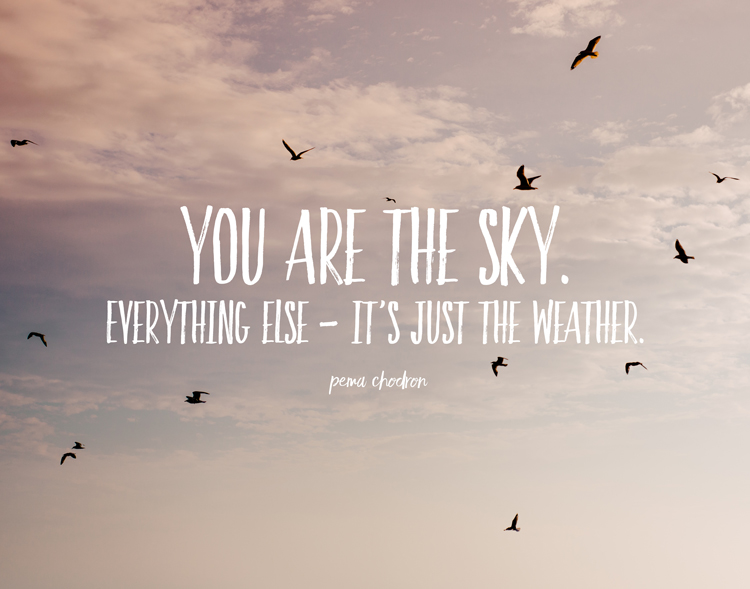 You Are The Sky| word art wednesday | RDPRINTS