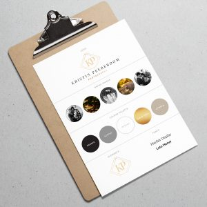 Kristin Peereboom Photography Brand Board