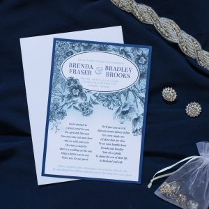 Brenda & Brad – Custom Wedding Invitation