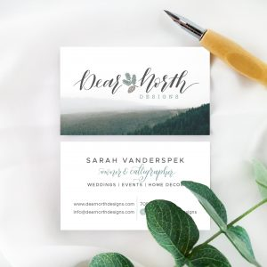 Dear North Designs | Business Card